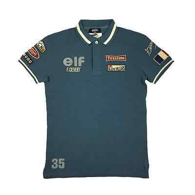 Warson Motors Warson Motors Polo Cevert Blue Mens