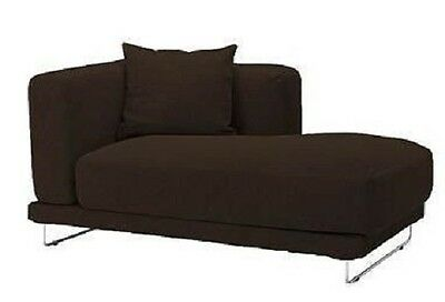 IKEA TYLOSAND Right Chaise Cover Rephult Dark Brown COVERS ONLY 300.817.64