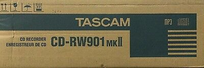 Tascam Professional CD Recorder/Player #CD-RW901MKII