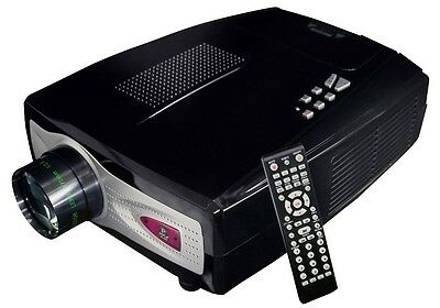 NEW Pyle PRJV66 60-100  4:3/16:9 Home Theater Video Projector Built-in Speaker