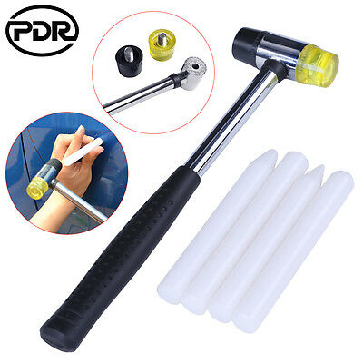 Paintless Dent Repair Super PDR Tap Down KnockDown Hammer Nylon Pens Tools Set
