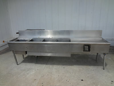 4 Compartment Stainless Bar Sink # 1495