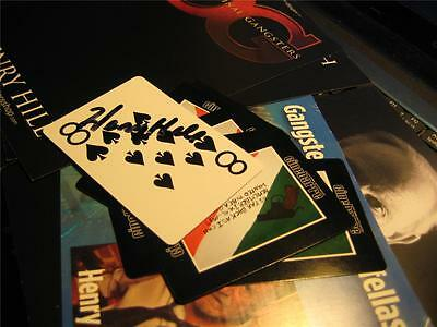 Henry Hill Goodfella Personal Playing Cards Autographed Gangster Guns