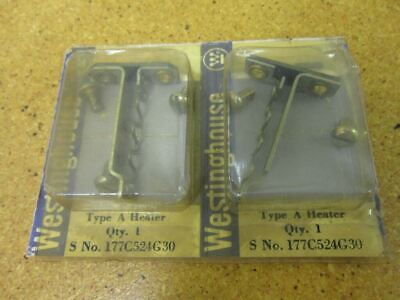 Westinghouse 177C524G30 Overload Heating Elements New (Lot of 2)