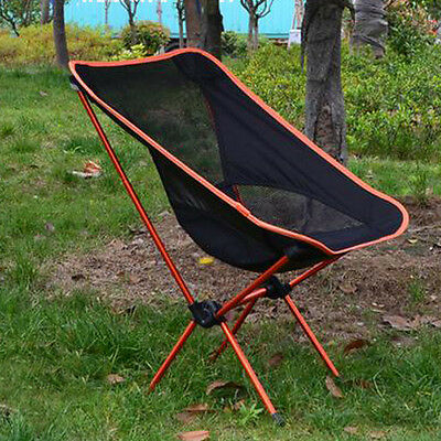 Portable Chair Folding Seat Stool + Pouch Bag for Beach Fishing Camping Hiking