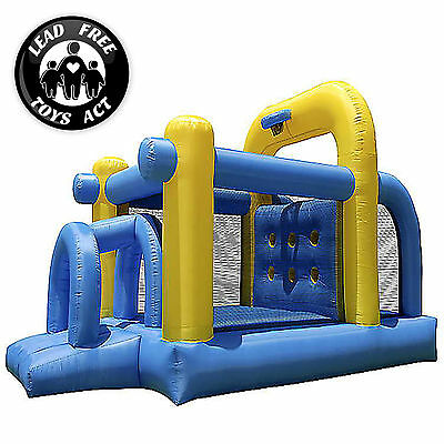 Bounce House Tunnel Obstacle Course Slide Jumper Bouncer Inflatable Only
