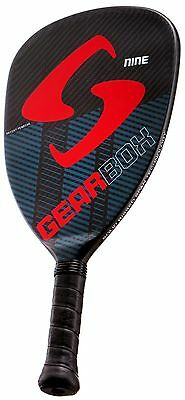 "Pickleball Paddle, Gearbox Nine, 9 oz.(+/- 0.2), 3 5/8"" grip (small)"