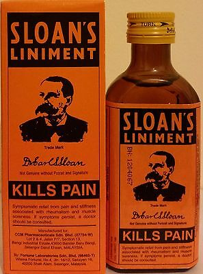 2 x SLOAN'S Liniment Original Pain Relief for Muscle Pain,Sprains,Arthritis 70ml
