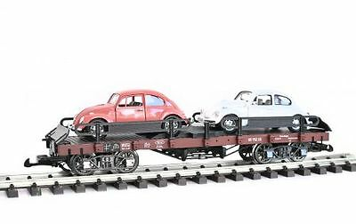 Zenner Car carrying truck VW Beetle,G Scale,LGB compatible Clutch,
