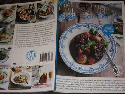 WOMENS WEEKLY COOKBOOK COOKING RECIPES SLOW COOKER 2 crock pot FREE SHIPPING
