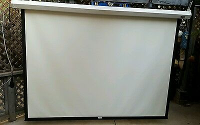 """110"""" Electronic Da-Lite projector screen with Switches"""