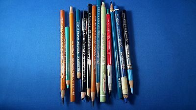 Lot of 13 drawing / colored pencils vintage