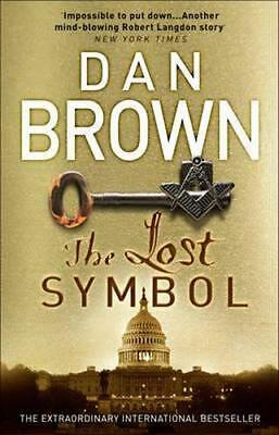 NEW The Lost Symbol By Dan Brown Paperback Free Shipping
