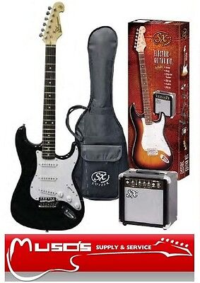 SX left-hand Electric Guitar PACKAGE ¾ BK $269 +postage ($10 for Greater Sydney)