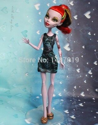 New Party Doll's Dress Clothes Siamese Skirt dress For monster high school doll
