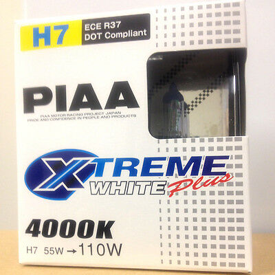 PIAA Twin Pack Xtreme White Plus H7 Bulbs 17655