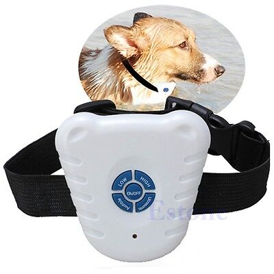 Bark Stop Pet Dog Training Collar Ultrasonic Anti Barking Control