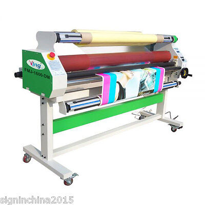 "1520mm 60"" Economical Full - auto Low Temp Wide Format Cold Laminator -BY SEA"