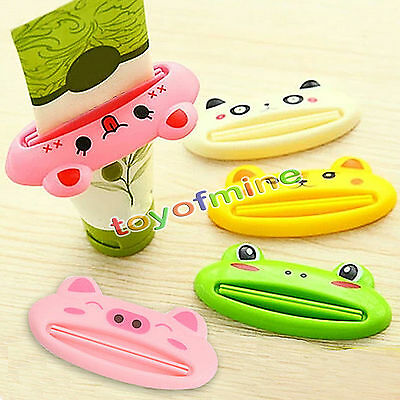 Bagno di rotolamento Holder Tubo Squeezer Facile dentifricio Cartoon