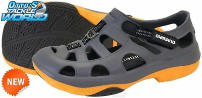 Shimano Evair Shoes Grey/Orange Fishing Camping  BRAND NEW @ Otto's Tackle World