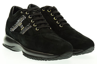 HOGAN donna sneakers basse HXW00N0V340CR0B999 INTERACTIVE H BORCHIE A16