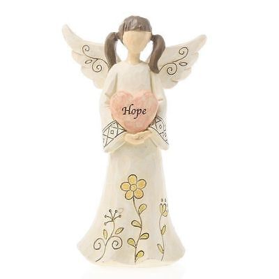 Hope Angel Holding Heart Ornament Statue Figurine Ornament 20cm