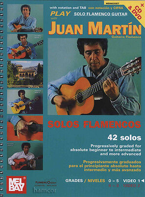 Play Solo Flamenco Guitar Vol 1 Juan Martin TAB Music Book/DVD/CD