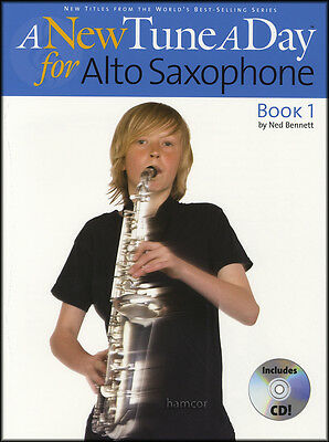 A New Tune A Day for Alto Sax Saxophone Book 1/CD Learn to Play Beginner Method