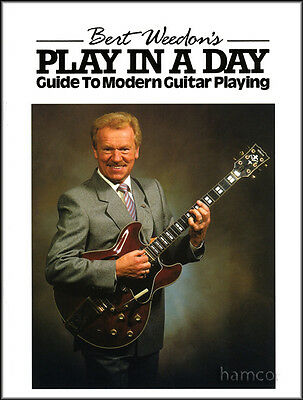 Bert Weedon's Play in a Day Guitar Music Tutor Book NEW