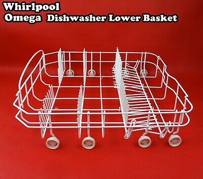 Dishwasher Spare Parts Lower Rack Basket - Suits Many Famous Brands (Grey) New