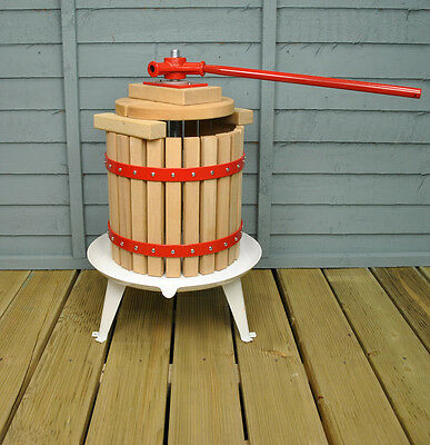 12 Litre Traditional Fruit and Apple Cider Press by Selections