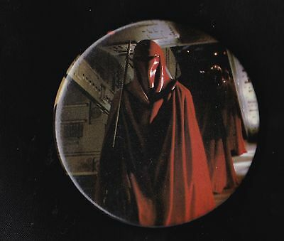 Vintage Star Wars Badge Pinback Button Return Of The Jedi Emperor's Guard 1983
