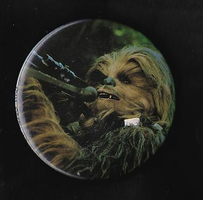 Vintage Star Wars Badge Pinback Button Return Of The Jedi Chewbacca  1983