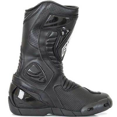 RST R-16 R16 Black Motorcycle Motorbike Sports Touring Boots | All Sizes