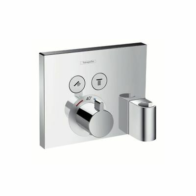 Hansgrohe ShowerSelect Thermostat Flush Mount for 2 Users chrome, 15765