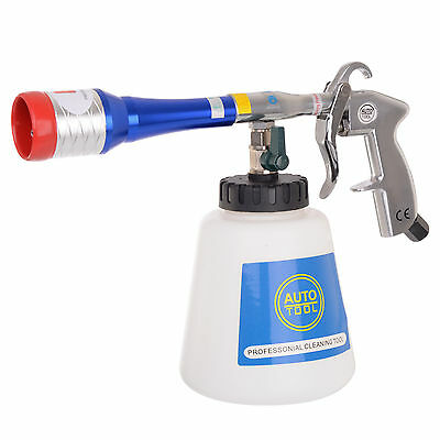 Air Cleaning Gun METAL TUBE and NOZZLE RUBBER TORNADO EFFECT for Car Upholstery