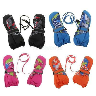 Children/Kids Winter Warm Ski Gloves Lovely Waterproof Windproof Gloves/Mittens