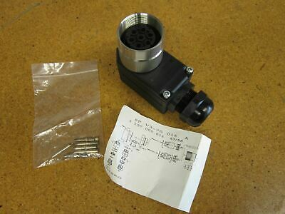 Souriau 8P.V3-7S.016 Right Angle Connector 5034 009 52 02 NEW