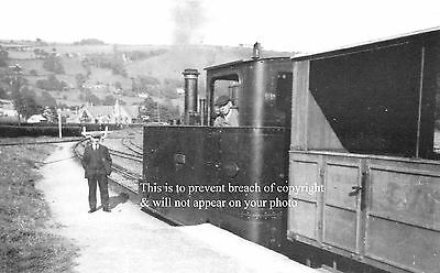 Photo Of Glyn Valley Train At Glyn Ceiriog