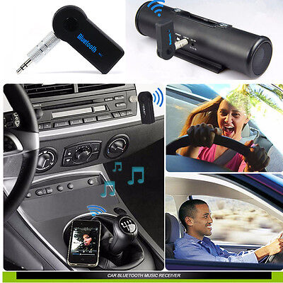 Wireless Bluetooth 3.0+EDR A2DP AUX Car Music Stereo Receiver Adapter Dongle UK