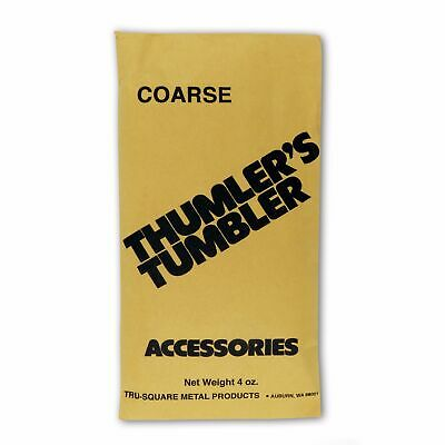 Thumlers Tumbler 4 oz. of Rock Tumbling Coarse Grit for First Stage Polishing