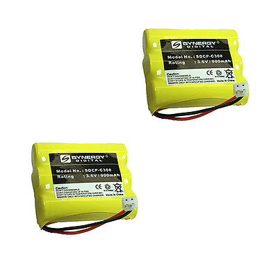 Motorola MD761 Cordless Phone Battery Combo-Pack incl.: 2xSDCP-C308 Batteries