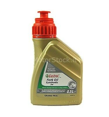 Olio Forcelle Castrol Synthetic Fork Oil 5w 0,5 Lt