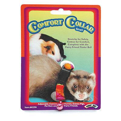 Superpet Elastic Small Animal Collar or Lead Leash Ferrets Rabbits Guinea Pigs