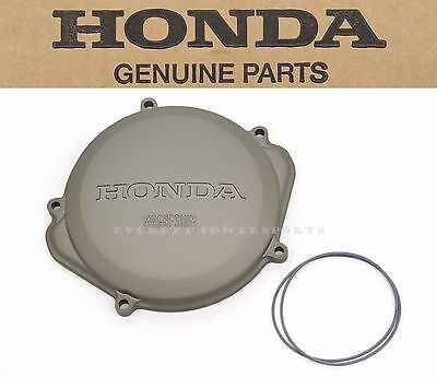 New Genuine Honda Right Clutch Case Access Cover + O-ring 04-09 CRF250 R #a35