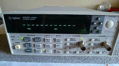 HP Agilent Keysight 53131A 3 GHz Frequency Counter