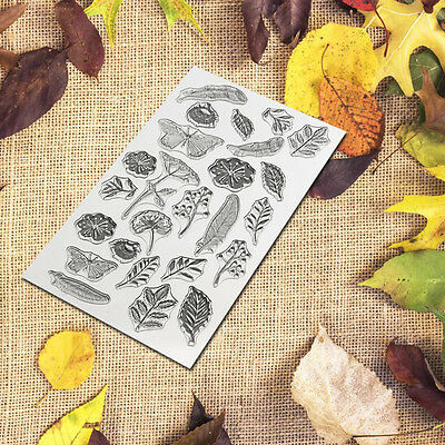 New Transparent Silicone Clear Stamp Seal Scrapbooking Diary Christmas Card DIY