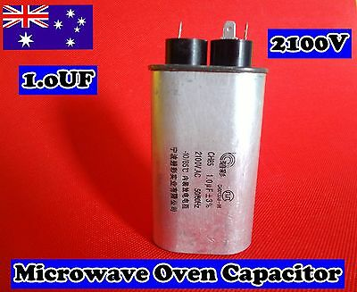 Microwave Oven Spare Parts High Voltage Capacitor CH85 1.0uF 2100VAC (C221)