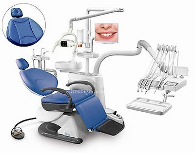 TJ2688 F6 Dental Unit Chair Soft Leather Computer Controlled FDA CE Approved