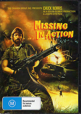 Missing In Action - Chuck Norris  New  All Region Dvd